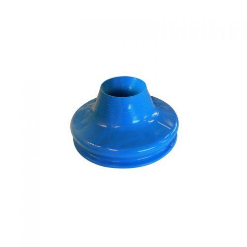 collo silicone blu